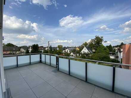 Tolle Penthouse-Wohnung mit schönem Balkon - helle Räume - TG-Stellplätze - gute Anbindung