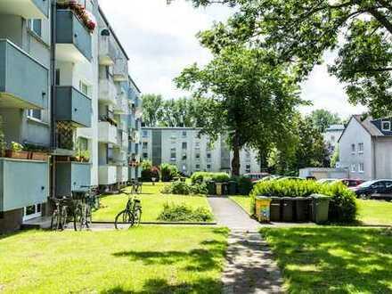 Citynahes Wohnen am Derner Bach! Lichtdurchflutete 3-Zimmer-Wohnung mit schöner Aussicht!