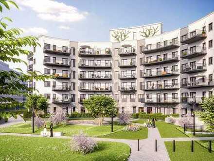 reizvolle 3-Zimmer-Wohnung mit Fußbodenheizung, Echtholzparkettboden und 2 Balkonen