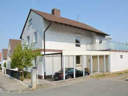 Geräumiges Zweifamilienhaus in ruhiger Feldrandlage von Gerolsheim