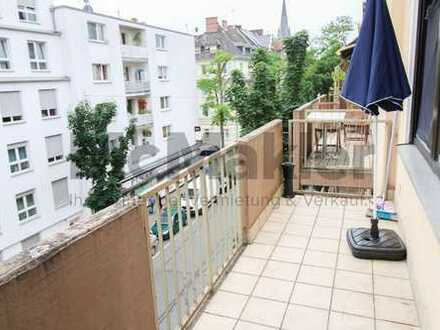 1-Zi.-ETW mit großem Balkon im Herzen von Wiesbaden-Biebrich