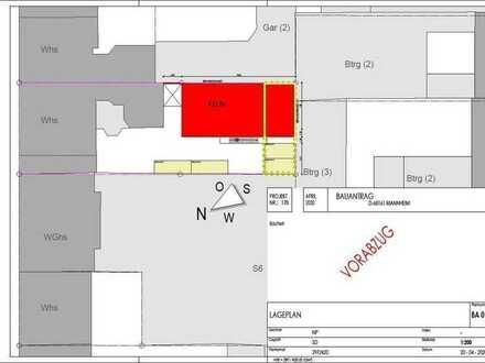 Projektiertes Grundstück in Top City Lage für 18 Apartments u. 2 ETW´s!