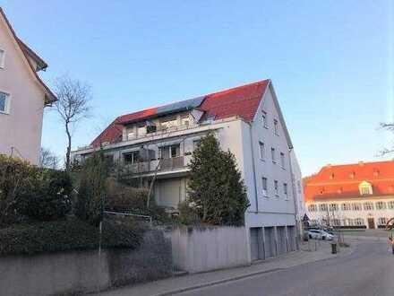 Schöne 3-Zimmer-Wohnung mit ca. 85,48 m² mit Balkon im Zentrum von Rechberghausen!