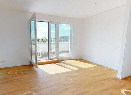 Vermietete 2,5 Zimmer-Wohnung im Neubauviertel, direkt am Wasser in Grünau.