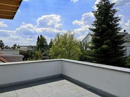 Dachgeschosstraum für anspruchsvolle Singles oder Paare. Erstbezug nach Luxussanierung.