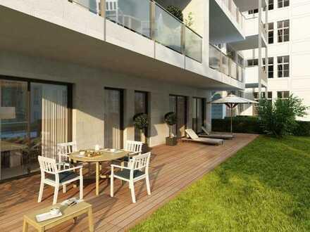 3 Zimmer Neubau Sonnenseitig:~ Whirlpoolwanne ~Terrasse & Privatgarten~