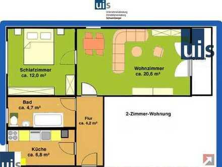 2-Zimmer-Wohnung in gepflegter Eigentumsanlage