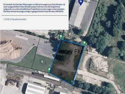 Freifläche Lagerplatz Niesky Gewerbegebiet Nord