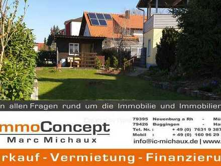Hochwertige 4 Zimmerwohnung mit großem Garten in Steinenstadt