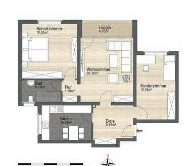 Mit Weitblick,frisch renovierte 3-Zimmerwohnung in Hagen-Hohenlimburg