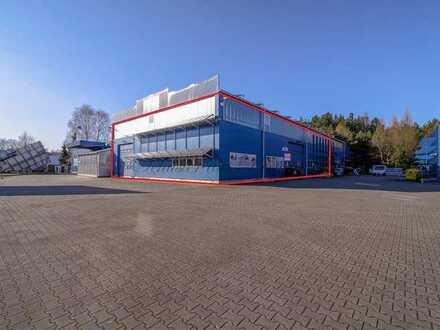 Schuster aus Preussen - Eberswalde - große und moderne Halle als Lager, für Produktion oder als W...