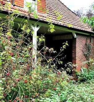 Tolles Waldgrundstück mit sanierungsbedürftigem Haus in Husbäke !
