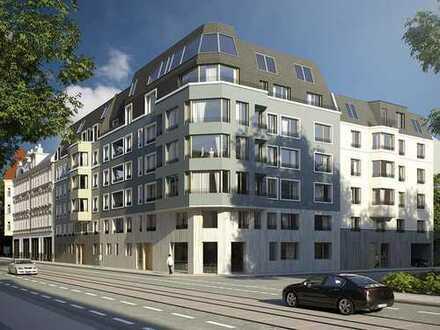 Für Spaziergänger, Radfahrer und Naturfreunde! 2-Zimmer-Wohnung mit Balkon in grüner Lage