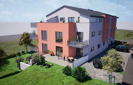 Große 4-Zimmer-Neubauwohnung im KfW Standard in Reinhausen
