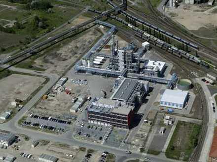 Chemiepark Bitterfeld-Wolfen: Produktions-, Lager-, Labor- und Büroflächen zu verkaufen