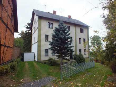 Selb/Stadtteil Selb-Plößberg 2 Zimmerwohnung mit Gartenanteil, zur Miete