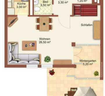 Schöne Ergeschosswohnung mit Garten (2 min zur S-Bahn)