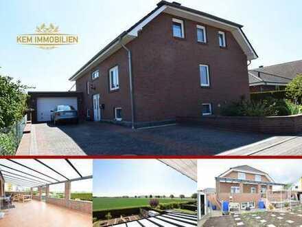 Zweifamilienhaus Mehrfamilienhaus in Nordstemmen mit Terrasse, 155m² Keller