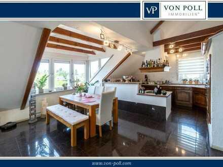 Wunderschöne Maisonette-Dachgeschosswohnung in Bester Lage von Sankt Ingbert