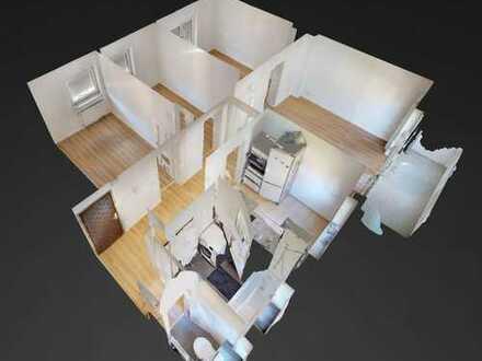 Erstbezug nach Sanierung: 4-Zimmer-Wohnung mit Balkon in Bonn-Bad Godesberg, Stadtteil Plittersdorf