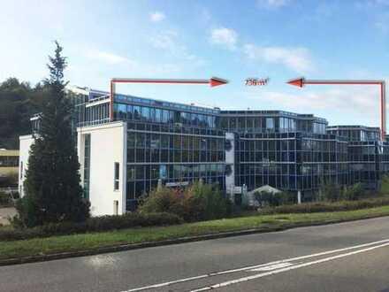 736 m² Penthouse-Büro mit Weitsicht - auf Wunsch klimatisiert