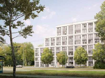 4-Zi.-Wohnung mit modernstem Wohnkomfort, 2 Bädern und ~19 m² Süd-Loggia in optimaler Lage