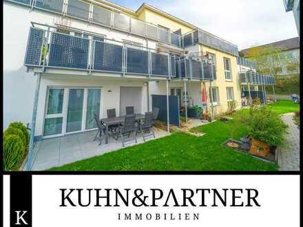 Bad Rappenau | Schöne Eigentumswohnung mit Terrasse und Gartenanteil Baujahr 2017