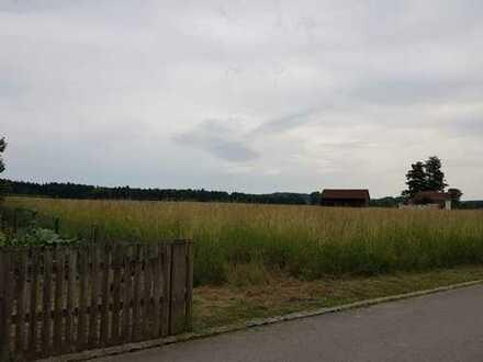 Sonniges Baugrundstück in Ortsrandlage von Geisenfeld
