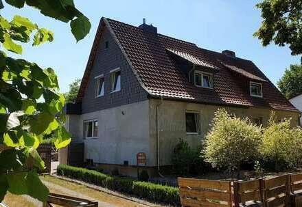 Doppelhaushälfte mit großem Grundstück in Wilsche