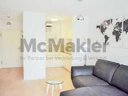 Gehobenes Wohnen am Neckarufer - Moderne 2,5-Zi.-ETW mit eigenem Garten und Terrasse in Ilvesheim