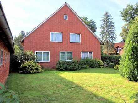 Idyllisch-ländliche Lage in Bramstedt: Großes Grundstück mit ehemaliger Hofstelle