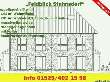 Feldblick Stahnsdorf - Neubau Doppelhäuser in Stahnsdorf