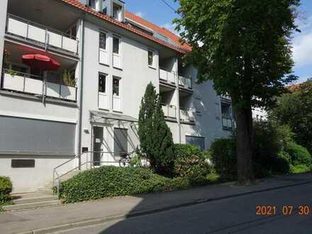 1 Zi.- Stadtwohnung mit Balkon und Garage