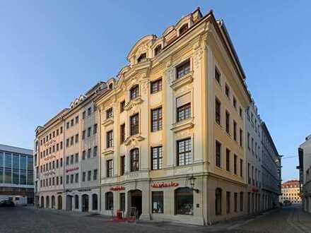 Wohnen am Neumarkt - hochwertige 3-Zimmerwohnung mit Innenhof-Balkon - JÜDENHOF DRESDEN