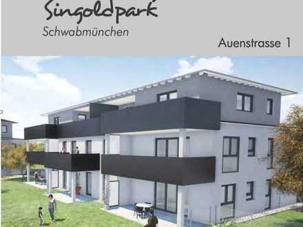 Erstbezug: Helle 2- ZKB-Wohnung mit Dachterrasse - im Herzen von Schwabmünchen