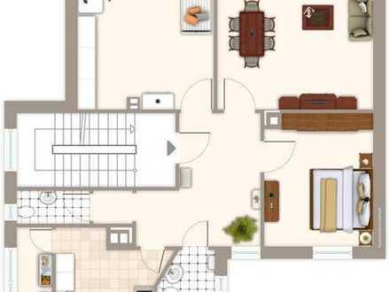 Lichtdurchflutete, großzügige, sanierte 3 Zimmer-Wohnung in Bahnhofsnähe