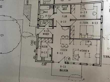 vermietete schöne 3,5-Zimmer-Wohnung mit großem Balkon und EBK in Magstadt