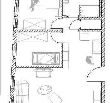 Traumwohnung, Kernsanierte 3-Zimmer-Wohnung mit Einbauküche in Besigheim/Ottmarsheim