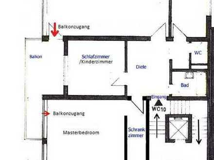 Schöne, helle 3,5 Zimmer Wohnung in Top-Lage Stadtmitte Neu-Ulm