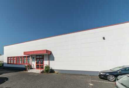 Moderne Lagerfläche mit Büros direkt am BAB Kreuz A43/40!