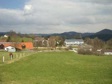 """Bebauungsplangebiet """"Am Schlossgarten"""" Nahe der Marktgemeinde Schönberg im Bay. Wald"""