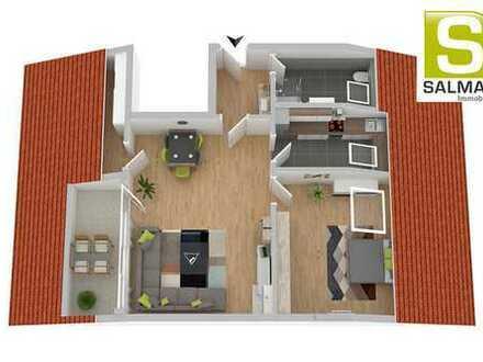 +++Exklusive 2-Zimmerwohnung. Fußläufig zum Schloss.+++
