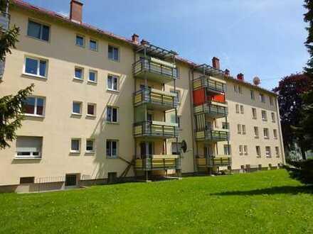 Modernisierte zentrumsnahe 3-Zimmerwohnung mit Balkon