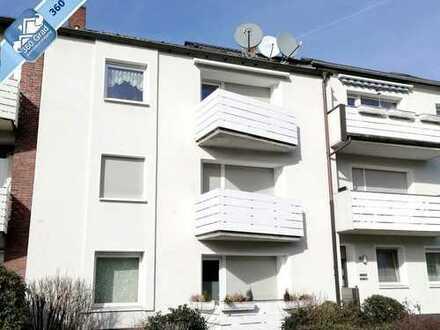 Gepflegte 2,5-Raum-Wohnung mit Süd-Balkon in Gelsenkirchen-Horst