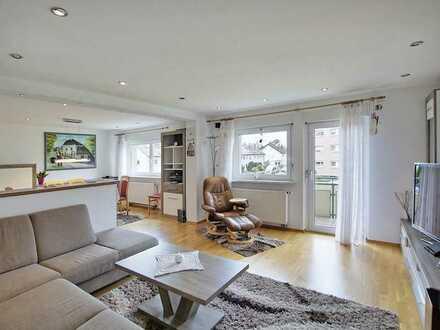 Großzügige Wohnung mit 2 Balkonen in Stadtlage