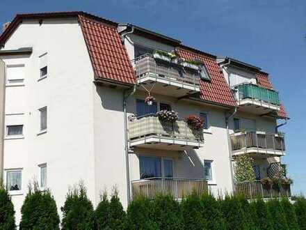 Günstige, vollständig renovierte 2-Zimmer-EG-Wohnung mit Terrasse in Döbeln-Mochau