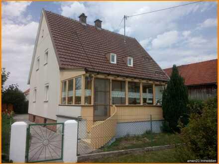 Einfamilienhaus mit großem Garten - zusätzlich bebaubar