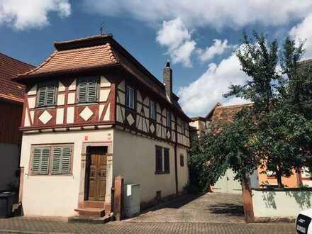 Historisches Zuhause - bezauberndes Fachwerkhäuschen in der Nähe von Miltenberg!