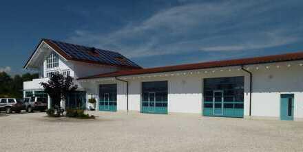 Autohaus mit Werkstatt, Wohnung und Baugrundstück in Nordendorf