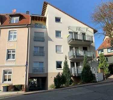 Moderne, stadtnahe 2-Zimmer-Wohnung mit großem Südbalkon